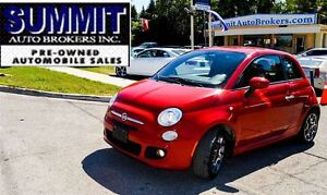 2012 Fiat 500 SPORT | CAR-PROOF CLEAN | LEATHER | BLUETOOTH
