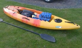Sea kayak. Ideal fishing etc