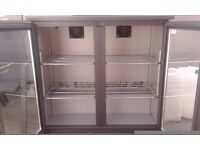 LIKE NEW !!! KOMMERCIAL FREEZER DISPLAY MODEL GAMKO BAR Equipment 90/90 cm