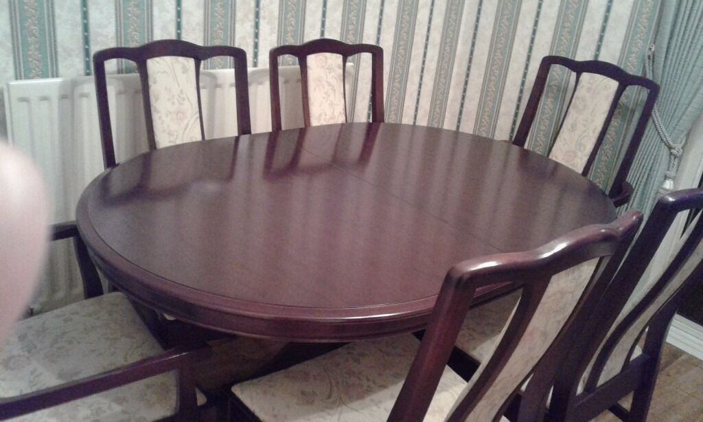 STAG Dining Table And Chairs 150