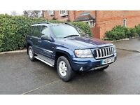 JEEP GRAND CHEROKEE 4X4 DIESEL 2.7 ,GOOD ENGINE AND GEARBOX.