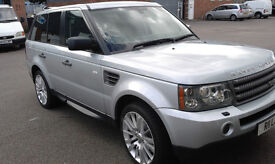 RANGE ROVER SPORT 2.7 HSE 2009 LOW MILES PRIVATE PLATE FULL DEALERS HISTORY 20 INCH ALLOYS NEW TYRES