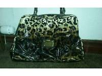 Leopard print bag New condition