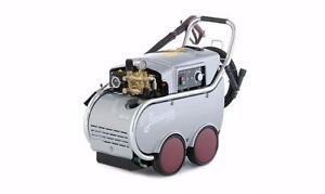 Industrial Electric Pressure Washer - Hot Water Diesel Burner. Italy