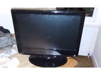 "M&S LCD TV Television Built in DVD Player 19"" Inch"