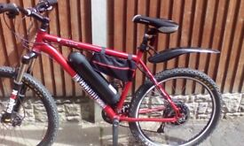 Voodoo Hoodoo based electric MTB
