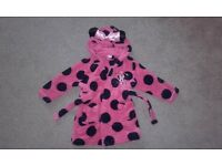 Minnie Mouse dressing gown 12- 18 months