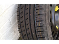 Pirelli P7 215 55 17 tyre BRAND NEW with peugeot 407 spare wheel.