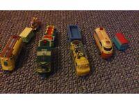 Bundle of 4 chuggington interactive trains in good condition