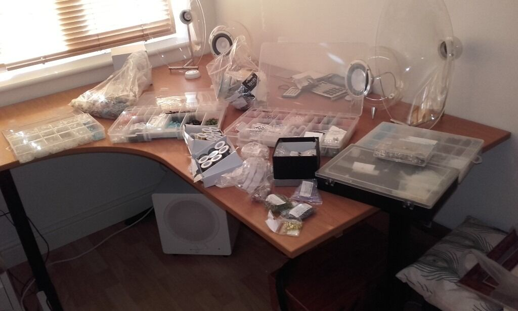 Jewellery beads and findings (newin Penylan, CardiffGumtree - Hundreds of £ worth of beads and findings. All new. Ideal if you like creating / making your own jewellery , or running a class. offers around £130