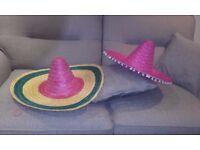 10 Mexican Sombrero's