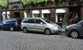 VW 2007 VOLKSWAGEN SHARAN 1.9 TDi SILVER AUTO 6 SEATS