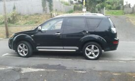 2007 Mitsubishi Outlander Warrior for sale. £2500 OR VERY NEAR OFFER.