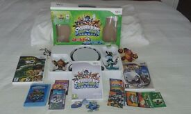Skylanders Swap Force Starter Pack for the Wii plus 2 other Wii games (Ben 10 & Rayman RR2)