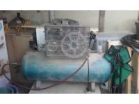clarke industrial compressor 200lt