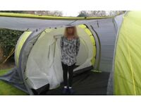 6 birth family tent