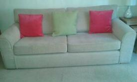 Beige/Biscuit In colour sofa