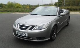 SAAB 9-3 VECTOR 1,9 TID CONVERTIBLE.08/58 REG.SAAB + ONE PRIVATE OWNER.RECENTLY RAC INSPECTED.
