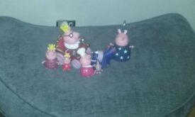 Peppa Pig Royal family set
