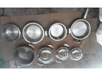 Bergmann Steel Pan Set