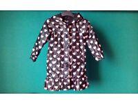 Girls rain coat from Baby Gap, size 3-4