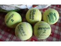 20 tennis balls