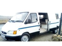 ford transit 2.5 turbo diesel camper project with mot november