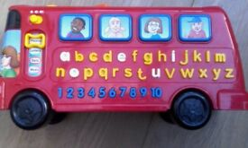 V-Tech Phonics Bus, Leapfrog messenger, laptops *Can post*