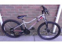 """Childs / Boys / Girls Unisex Apollo Krypt 24"""" Wheel Mountain Bike Bicycle"""