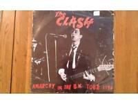 The Clash..Anarchy In The U.k. Tour 1976 Vinyl Album