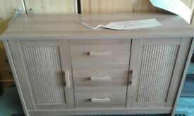 wood effect sideboard lovely condition £55
