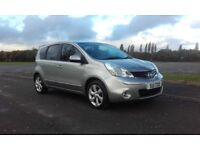 2010 nissan note 1.5 dci n-tec £30 a year tax f/s/h