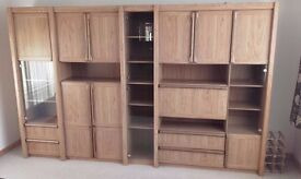 Large wall unit - separates into 5 sections