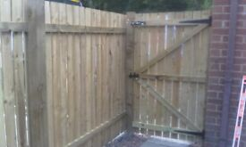 Fencing and decking service from £25 per metre