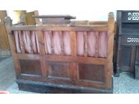 Vintage organ and oak pulpit from Baptist chapel for sale