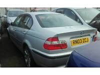 BMW 316 I SE For Breaking/Spares