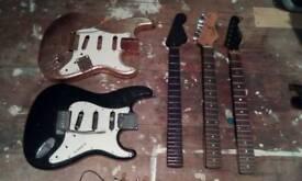 Guitar project Strats Joblot