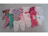 Baby Girl Clothes bundle (newborn) for sale £5