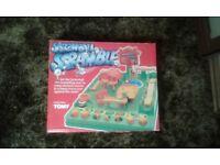 Screwball scramble board game