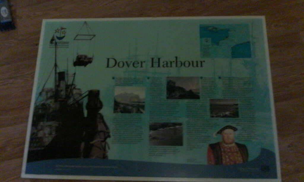 DOVER HARBOUR SIGN