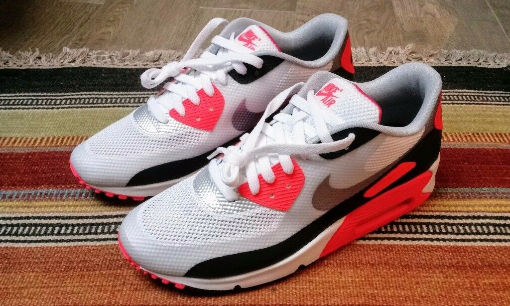 9bd4309677ad Nike Air Max 90 Infrared Hyperfuse Sneakers. Real Deal