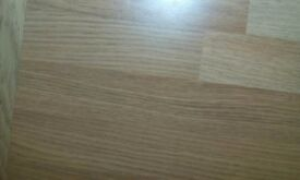 Duropal oak block worktop and upstand