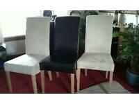 Dining chairs x 3
