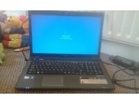 "Acer aspire 7741z 17.3"" screen ect"