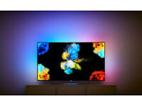 Philips 55POS9002 55 inch OLED 4K Premium Android Smart TV Freeview HD with Ambilight 3 sided