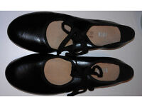 Black Tap Shoes by Bloch , Size 6,