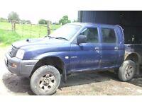 Mitsubishi L200, 2002