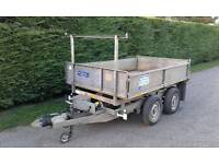 Ifor williams 8x5 electric tipper trailer