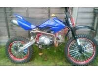 125cc demon x pit bike