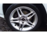 4X100 Honda Civic Jordan Alloys with tyres / Remus & Tiger back boxes ***OFFERS***